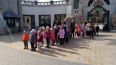 Kirándulás a Fővárosi Állatkertbe